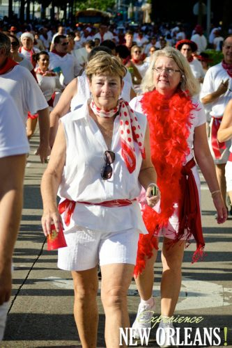 Running of the Bulls in New Orleans