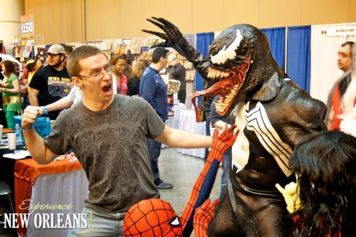 ENO's own Michael battles Venom