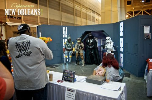 Take your chance to shoot Darth Vader and crew