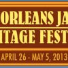 2013 New Orleans Jazz & Heritage Fest Lineup