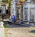 Livery Tours French Quarter and Cemetery Walking Tour