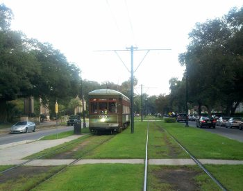 Streetcars In New Orleans Map.New Orleans Streetcars Experience New Orleans