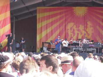 Dr. John at Jazz Fest 2013