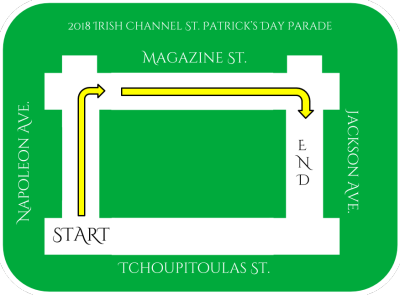 New Route for Irish Channel St  Patrick's Day Parade | Experience