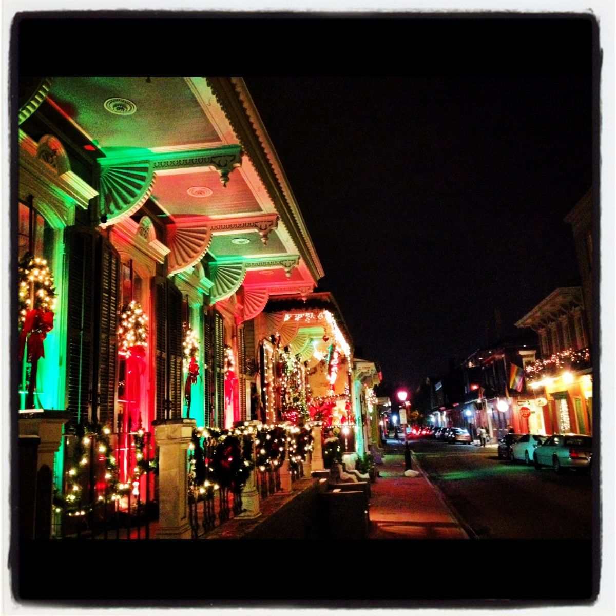 Shop Away In The Vieux Carre Christmas Tree Lighting