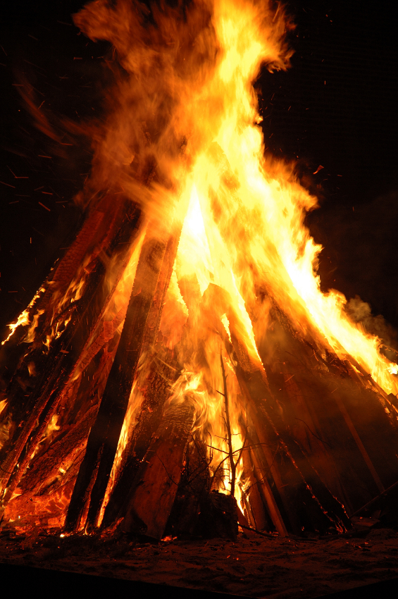 Christmas Bonfires