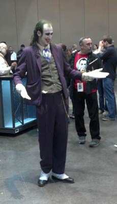 Joker at the New Orleans Comic Con