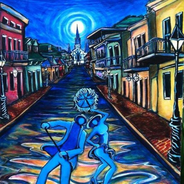 Christine Roy Visual Artist Working In New Orleans