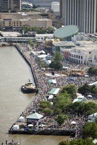 2011 French Quarter Festival Attendance