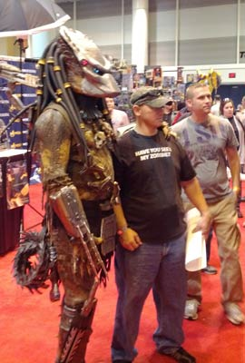 Predator at the New Orleans Comic Con