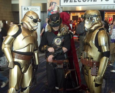Steampunk at New Orleans Comic Con